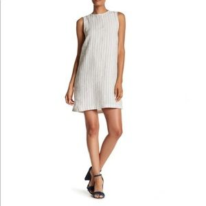 Theory dress Keshelle Back Lace-up Strip Dress